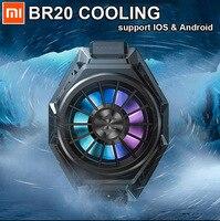¡En Stock! Xiaomi-ventilador de refrigeración Black Shark 3 Pro 2 Pro, Original, Mi 10 Pro, luz RGB, para iPhone XS, HUAWEI P20, p30, P40