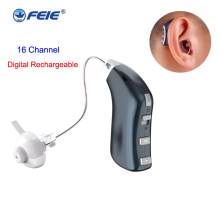 BTE Hearing CIC Invisible Aid Accesorries Digital Earplug for Three-Size Ear-Tip Open-Fit
