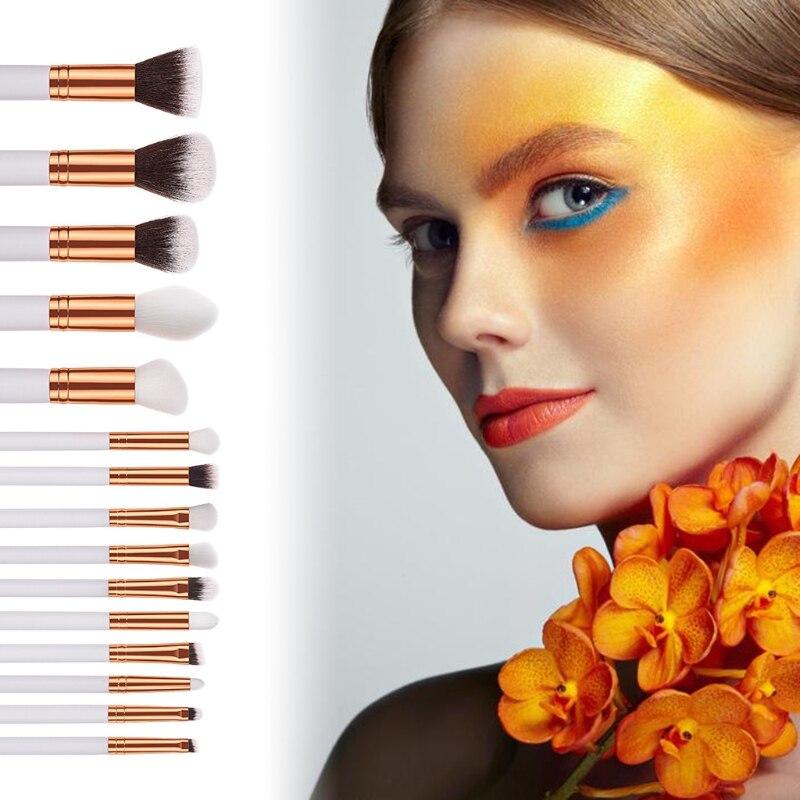 15 pçs pro pincéis de maquiagem conjunto