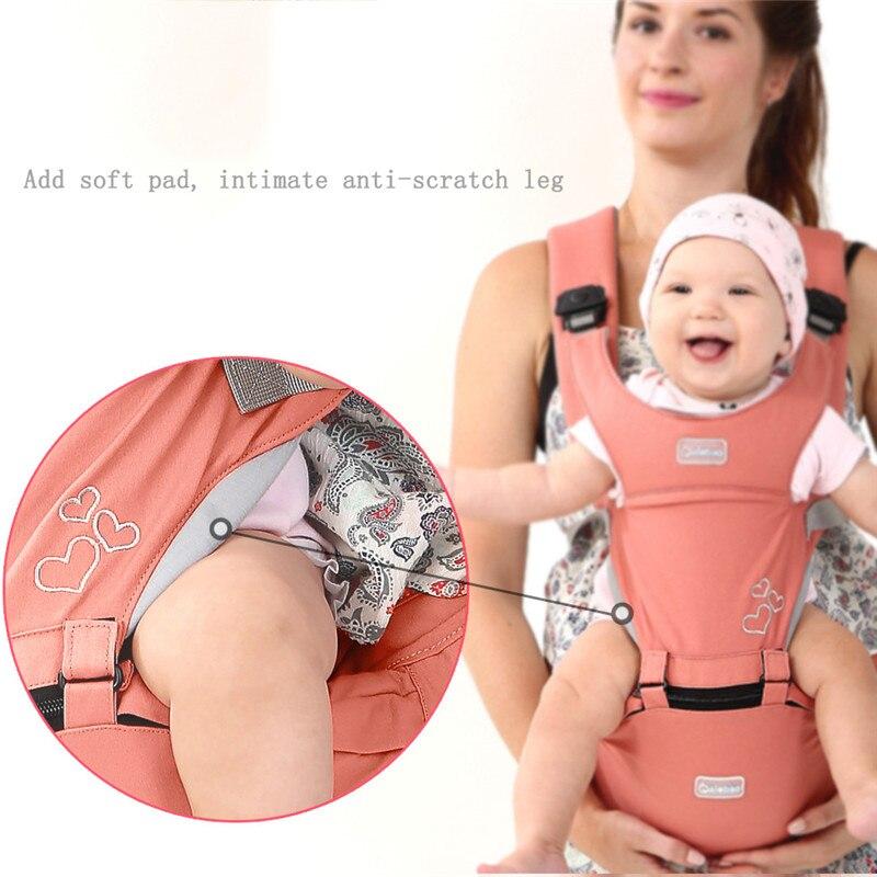 Baby Sling Front Hug Waist Stool Holding Belt Carrier Porte Bebe Ergonomique Kangaroo Hip Seat Versatile