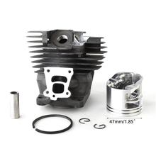 47MM Cylinder Piston Fit For STIHL MS362 MS362C MS 362 Chainsaw Spare Parts