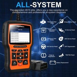 Image 2 - FOXWELL NT510 Elite pour BMW OBD2 Scanner f30 e46 e39 e60 e90 e36 OBD 2 pour MINI rolls royce OBD OBD II outil de Diagnostic Scanner