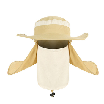Outdoor Travel Fishing Fisherman Neck Face UV Sun Protection Flap Cap Hat Fisherman Hat Adjustable and Removable Fishing Caps 4