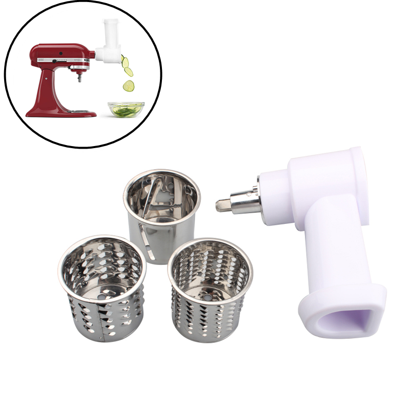 1 Set Electric Food Shredder For KitchenAid KSMVSA Stand Mixer Cook Fresh Food Prep Slicer Shredder Attachment
