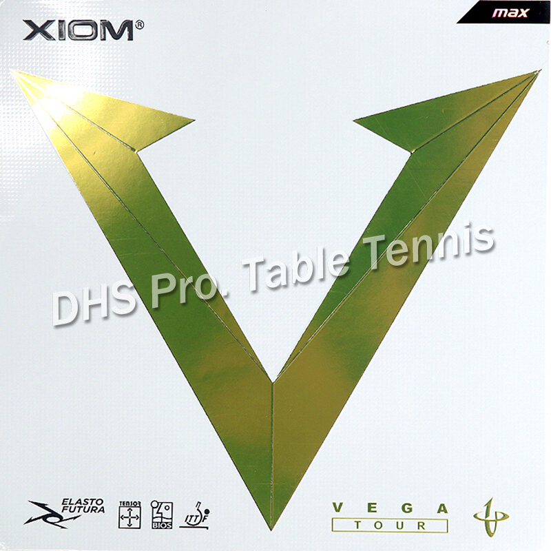 XIOM 2018 New VEGA TOUR Non-tacky Rubber Lastest Tensor Sponge Table Tennis Rubber Ping Pong Sponge Tenis De Mesa