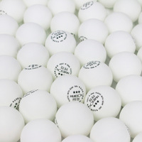 One pack 100pcs 3 Star New Material Environmental Ping Pong Ball S40+ 2.8g ABS Plastic Table Tennis Balls for Competition