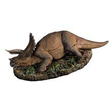 Pré-venda 1:35 nanmu sick triceratops pesado lance dinossauros modelo pré-histórico animal brinquedo versão doente