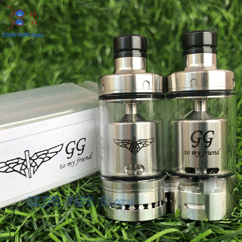Value Greek Rta The Golden Greek GG Latty Reloaded Rta 22mm Diamater E-Cigarette Top Filling Atomizer Vs QP Mini Juggernoeud Rta