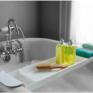 Expandable Bath Shelf Bathtub