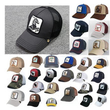 Hats Sunshade Baseball-Cap Mesh Truck Embroidery Anime Outdoor Summer DTM01 Driver Ms.