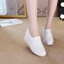 Sneakers Vacation-Shoes Star Fashionon Casual Solid Hollow-Out Breathable Woamn New