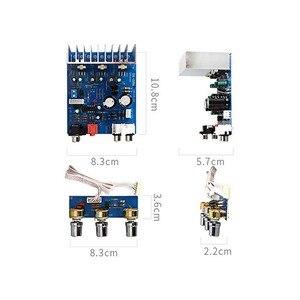 Image 3 - 2.1 15W*2+30W TDA2030 Dual AC12V 15V  Subwoofer Amplifier Board Sub Audio Stereo  for DIY Speaker amp accessories  F6 013