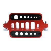 Liga de alumínio estação de solda xt60/xt90 multifuncional isolamento solda banana plug para pcb placa montagem ferramentas|Pistola ar quente| |  -