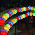 BEIAIDI Водонепроницаемый 20/30 шт., светильник на солнечной батарее, круглый шар, Рождественская вечеринка, сказочный светильник, наружная гирля...