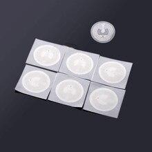 NFC Ntag213 ملصق العلامة 13.56MHz NTAG 213 تسمية عالمية تتفاعل مفتاح الرمز المميز دورية NXP ميفار خفيفة العلامات 10 قطعة