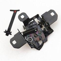 READXT Car Engine Cover Bonnet Hood Latch Lock & Release Pull Handle accessories For Golf 4 MK4 Bora 1J0 823 509 E 1J5823593C