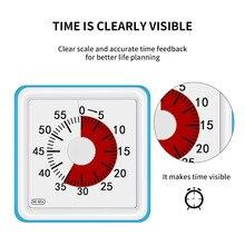 60 Minuten Kookwekker Visuele Koken Tellen Countdown Alarm Slaap Stopwatch Tijd Management Tool Voor Kinderen En Volwassen