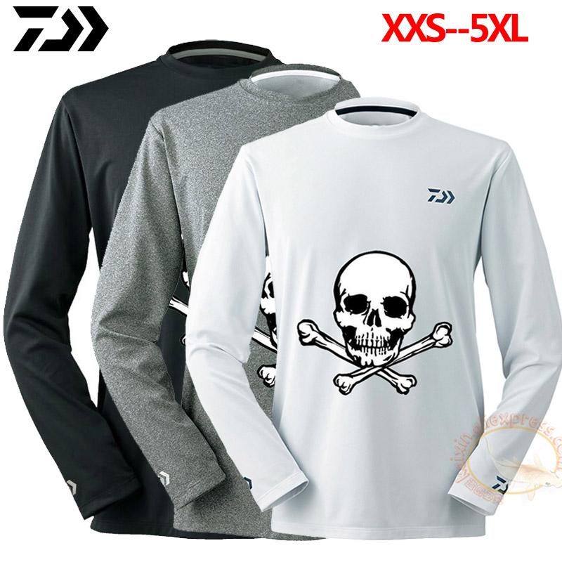 2020 New Fishing Jersey Clothing Outdoor Shirt Quick Dry Summer Fishing Clothes Large Long Sleeve Anti-UV Cool Ice Fishing Shirt