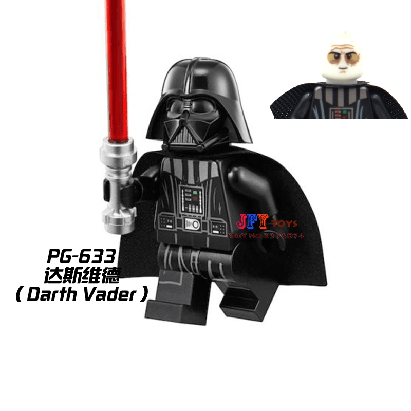 1pcs Superhero Darth Vader Collection Building Blocks Model Bricks Toys For Children Classic Hobbies