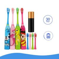 Электрическая зубная щетка с рисунком #2