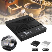 Timemore Black Mirror Scale Coffee Scale Smart Digital Scale Pour Coffee Electronic Drip Coffee Scale With Timer2kg Scale