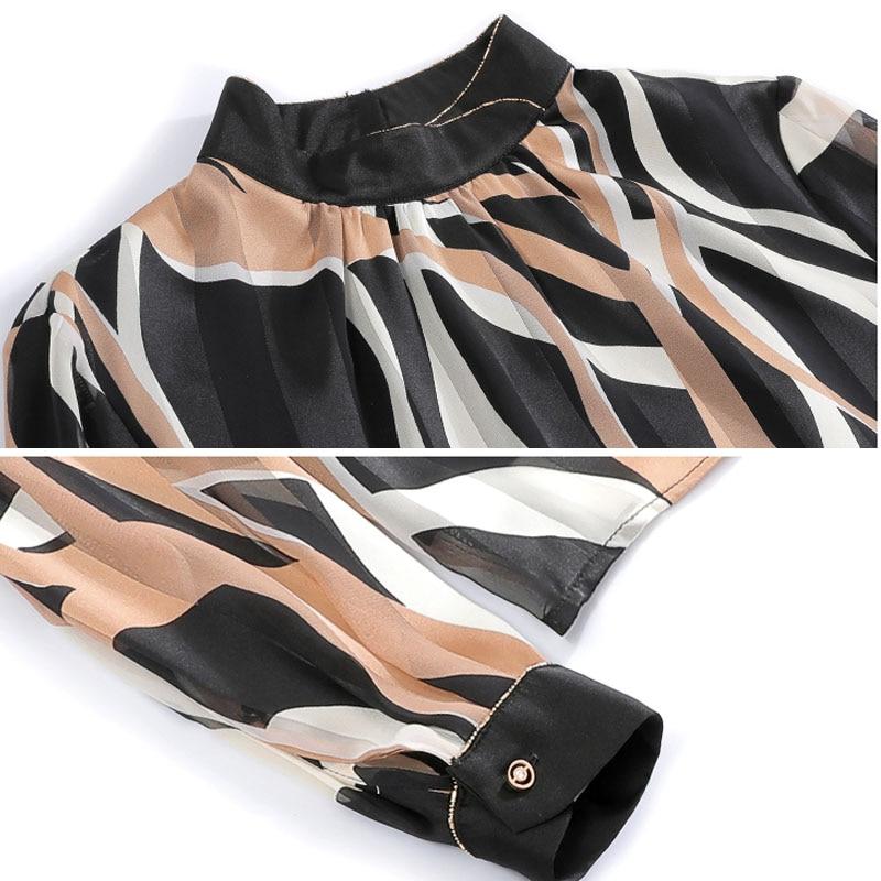 Chiffon Shirts Women Blouses 5