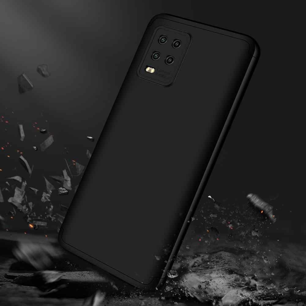 - Carcasa m/óvil de Silicona Protector Trasero en Azul Metalizado 5G kwmobile Funda Compatible con Xiaomi Mi 10 Lite