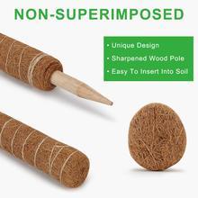 Кокосовая палочка для выращивания растений, безопасный садовый кокосовый пальмовый палочка для альпинизма растения лоза и криперы
