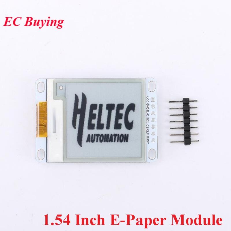 1.54 Inch E-Paper Module E-Ink Display Screen Module For Arduino E Paper E Ink EPaper Black White Color Electronic DIY