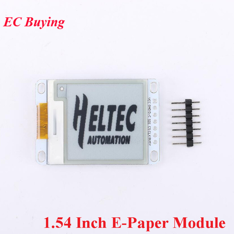 1.54 Inch E-Paper Module E-Ink Display Screen Module For Arduino E Paper E Ink EPaper Black White Color Electronic DIY