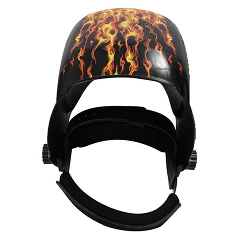 MIG TIG GS8D Helmet ARC Auto Mask Darkening And Welding Flame Solar Welder Girl