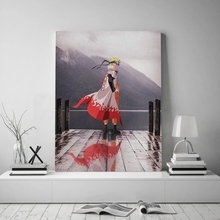 Modern Poster Painting-Pictures Modular Canvas Prints-Naruto Home-Decoration No-Frame