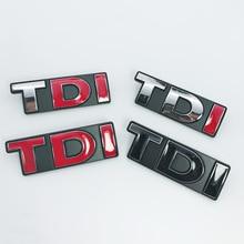 1pcs metal TDI car grill stickers Badge Auto Emblem styling for Volkswagen Golf Passat Lamando SAGITAR MAGOTAN POLO