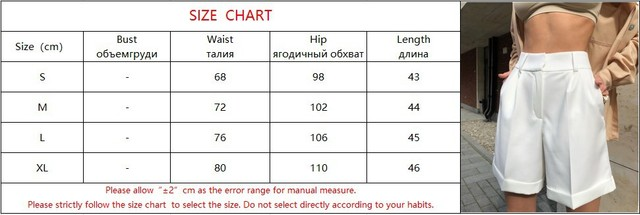 High Waist Shorts Women's Summer 2021 Elegant Soft Solid Color Loose Shorts with Pockets for Ladies Casual Short Femme Trousers 6