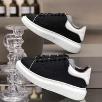 Autumn New Women's Small White women Shoes Leather Breathable Muffin Shoes Thick-soled Lace Sports Shoes