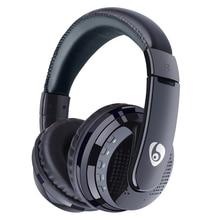 Na ucho bas stereo słuchawki z bluetooth bezprzewodowy zestaw słuchawkowy obsługa karty micro sd karty mikrofon radiowy