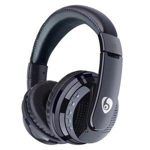 Image 1 - Sur loreille basse stéréo Bluetooth casque sans fil casque Support Micro SD carte Radio Microphone