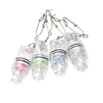 Multi-color Seleccionable Intermitente De Pesca Estable De Agua Profunda LED Peces De Atracción De La Lámpara Bajo El Agua Flash De Pesca