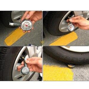 Image 5 - DSYCAR Metal Car tire pressure gauge AUTO air pressure meter tester diagnostic tool For Jeep Bmw Fiat VW Ford Audi Honda Toyota