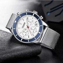 2019 CADISEN Fashion Luxury Watch Quartz Mens Watch