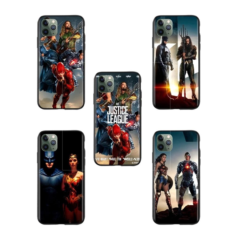 Acheter movie Justice League Action wallpaper leather case for iphone 6 dubai Plastic Phone Fundas
