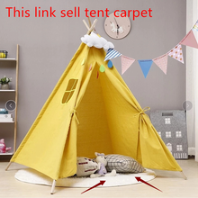 Carpet Teepee-House Play-Tent Indian Child Toys Ball Pool-Room Little Portable Indoor