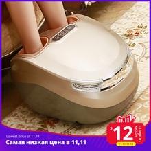 MARESE Electric Foot Massager Vibration Shiatsu Kneading Air Pressure Massage Machine  Carbon Fiber Heating Device Massageador