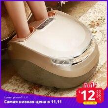 Marese Elektrische Voet Massage Trillingen Shiatsu Kneden Luchtdruk Massage Machine Carbon Fiber Verwarming Apparaat Massageador