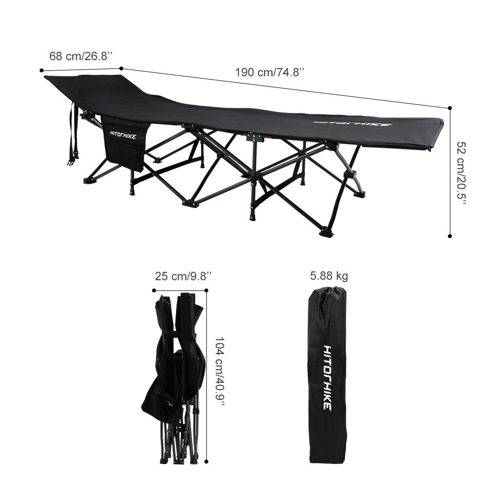 Ultralight Folding Camping Cot 2