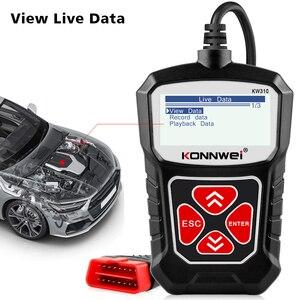 Image 4 - KW310 Obd2 자동차 스캐너 자동차 스캐너 엔진 분석기 자동차 도구 Obd 2 진단 도구 코드 리더 Elm327 V1.5 보다 나은