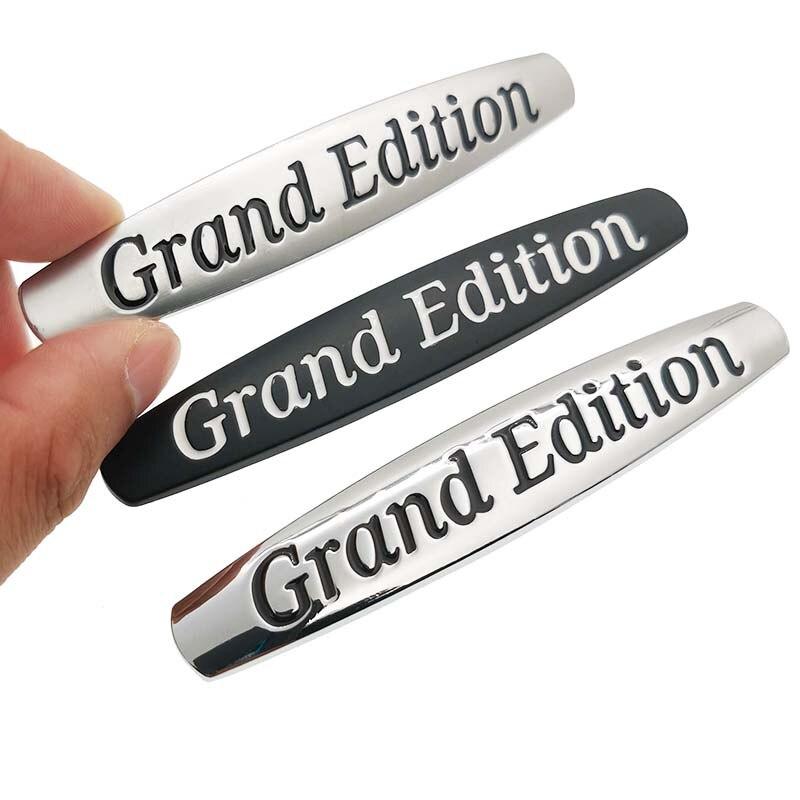 1 шт. металлическая 3D Эмблема для автомобиля Grand Edition, Эмблема для заднего багажника, наклейки для Mercedes-Benz, Автомобильные украшения