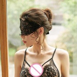 2020 Сексуальная кружевная маска женская белая черная маска для глаз для женщин открытая повязка на глаза Экзотическая одежда сексуальная иг...