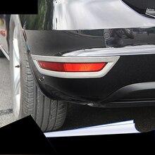 lsrtw2017 stainless steel car rear foglight trims for volkswagen vw sharan 2011 2012 2013 2014 2015 2016 2017 2018 seat Alhambra цена в Москве и Питере