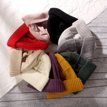 Kenshelley шерстяная шапка Корейская версия одноцветная осенне